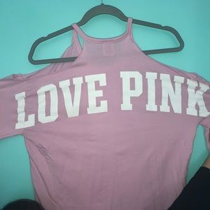 Pink long sleeve shirt from PINK